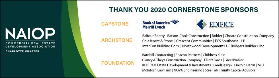 2020 Cornerstone Sponsors